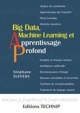 Stéphane Tufféry - Big Data, Machine Learning et apprentissage profond.