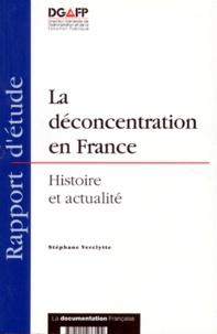 Deedr.fr LA DECONCENTRATION EN FRANCE. Histoire et actualité Image