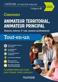 Stéphane Voisin et Sandrine Dumont - Concours Animateur territorial, animateur principal - 2021 - Externe, interne, 3e voie et examen professionnel.