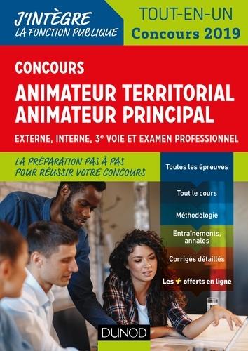 Stéphane Voisin et Sandrine Dumont - Concours Animateur territorial, animateur principal - Concours 2019 - Externe, interne, 3e voie et examen professionnel.