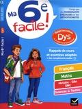 Stéphanie Aumont et Xavier Babonneau - Ma 6e facile ! 11-12 ans.
