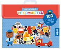 Stéphanie Bardy - Ma pochette de gommettes - 100 pompiers et policiers.