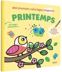 Stéphanie Bardy - Printemps - Avec un pinceau.