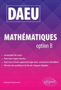Stéphanie Beaumesnil - DAEU Mathématiques option B.