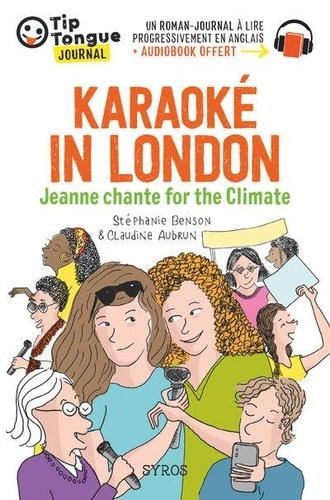 Karaoké in London. Jeanne chante for the Climate