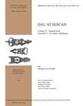 Stéphanie Boulogne et Pierre-Marie Blanc - Collections électroniques de l'Ifpo  : Qal'at Sem'an - Rapport final. Fascicule 3 : les objets métalliques.