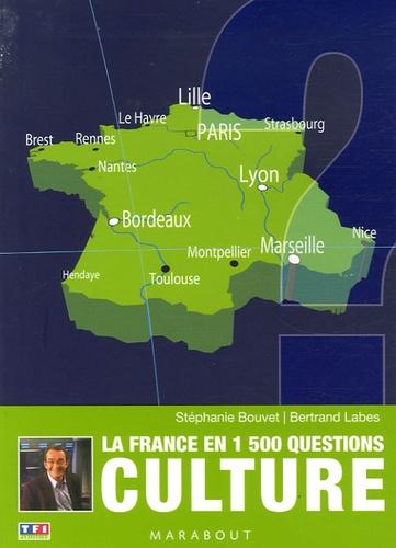 Stéphanie Bouvet et Bertrand Labes - Culture - La France en 1 500 questions.