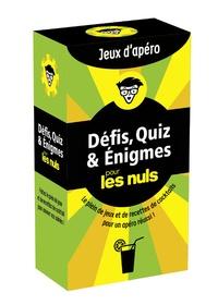 Stéphanie Bouvet - Défis, quiz & énigmes pour les nuls - Jeux d'apéro.