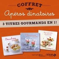 Stéphanie Bulteau et Sylvie Girard-Lagorce - Coffret Apéros dînatoires - 3 titres gourmands en 1 !.