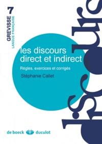 Les discours direct et indirect - Règles, exercices et corrigés.pdf