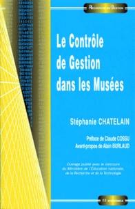 Stéphanie Chatelain - Le contrôle de gestion dans les musées.