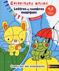 Stéphanie Chica et Mariana Vidal - Lettres et nombres magiques, moyenne section 4-5 ans - Cahier double.