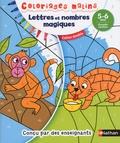 Stéphanie Chica et Stéphanie Grison - Lettres et nombres magiques - 5-6 ans, grande section.