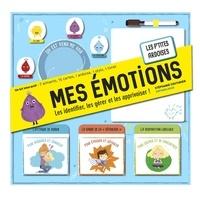 Stéphanie Couturier - Mes émotions - Les identifier, les gérer et les apprivoiser ! Avec 7 aimants, 15 cartes, 1 ardoise, 1 stylo, 1 livret.