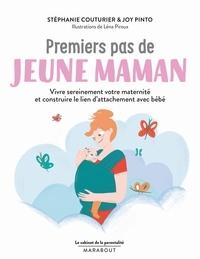 Stéphanie Couturier et Joy Pinto - Premiers pas de jeune maman.
