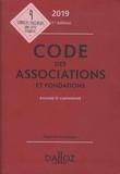 Stéphanie Damarey - Code des associations et fondations annoté & commenté.