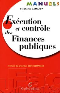 Stéphanie Damarey - Exécution et contrôle des Finances publiques.