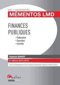 Stéphanie Damarey - Finances publiques.