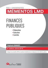Stéphanie Damarey - Finances publiques - Elaboration, exécution, contrôle.