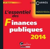 Stéphanie Damarey - L'essentiel des finances publiques 2014.