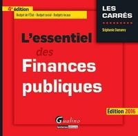 L'essentiel des finances publiques - Stéphanie Damarey |