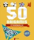 Stéphanie Desbenoît-Charpiot et Raphaël Hadid - 50 origamis d'animaux - Chats, grenouilles, lapins....