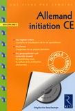 Stéphanie Deschamps - Allemand initiation CE. 1 CD audio