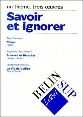 Stéphanie Dord-Crouslé et Michel Vanoosthuyse - .