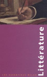 Stéphanie Dulout et Mathilde Fournier - Littérature Coffret 5 volumes : La littérature érotique ; La littérature française du XIXe au XXe siècle ; La littérature française du Moyen Age au XVIIIe siècle ; Les romantiques ; Le roman policier.