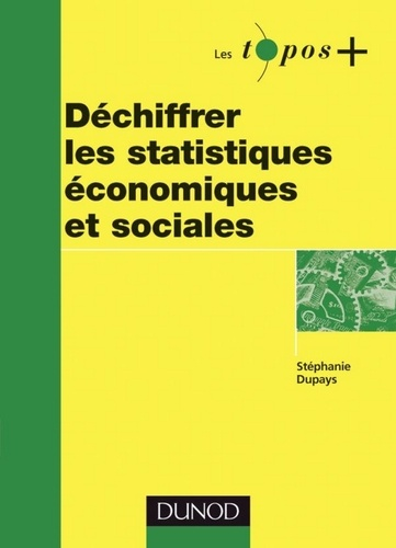 Stéphanie Dupays - Déchiffrer les statistiques économiques et sociales.