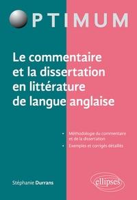 Openwetlab.it Le commentaire et la dissertation en littérature de langue anglaise Image