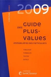 Stéphanie Durteste et Sophie Gonzalez-Moulin - Guide des plus-values immobilières des particuliers.