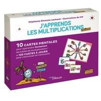 Stéphanie Eleaume Lachaud et  Filf - J'apprends les multiplications autrement - 10 cartes mentales pour apprendre facilement les tables de multiplications, 120 cartes à jouer pour s'entrainter en s'amusant.