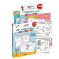Stéphanie Eleaume Lachaud et  Filf - Mes cartes mentales pour enseigner le français Cycle 2 : CP, CE1, CE2 - 80 cartes mentales reproductibles. Etude de la langue Cycle 2 CP-CE1-CE2.