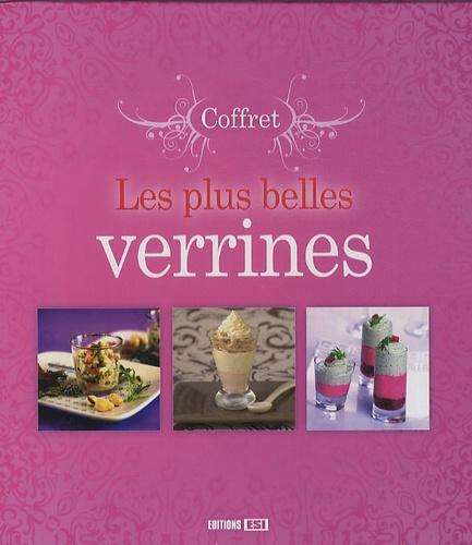 Stéphanie Ellin - Les plus belles verrines - Coffret en 3 volumes.