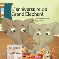 Stéphanie Emerat et Lily Noriet - L'anniversaire de Grand Elephant.