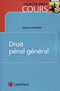 Stéphanie Fournier - Droit pénal général.