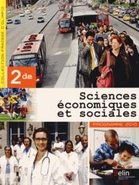 Stéphanie Fraisse-D'Olimpio - Sciences économiques et sociales 2e - Programme 2010.