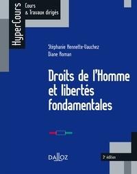 Ebook pour ipod téléchargement gratuit Droits de l'Homme et libertés fondamentales en francais 9782247169375 PDF RTF par Stéphanie Hennette-Vauchez, Diane Roman