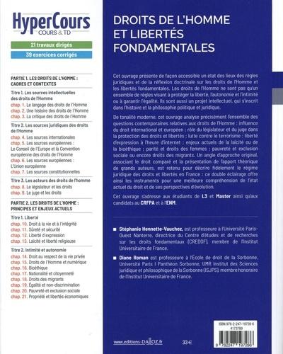 Droits de l'Homme et libertés fondamentales 4e édition