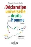 Stéphanie Hennette-Vauchez - La déclaration universelle des droits de l'Homme.
