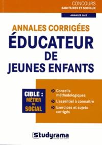 Stéphanie Jaubert - Annales corrigées Educateur de jeunes enfants.