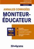 Stéphanie Jaubert - Annales corrigées Moniteur-Educateur.