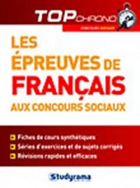 Stéphanie Jaubert - Les épreuves de français aux concours sociaux.