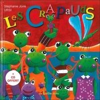 Stéphanie Joire et  Ursi - Les crapauds. 1 CD audio