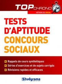 Stéphanie Joubert - Tests d'aptitude concours sociaux.