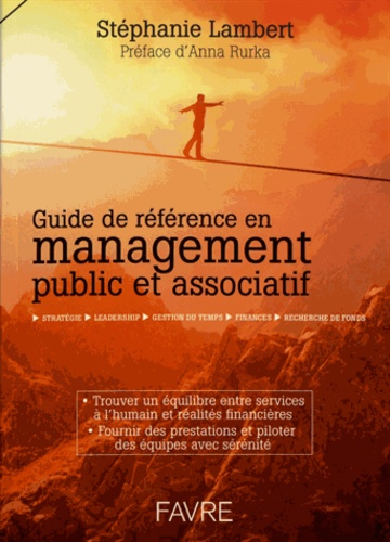 Stéphanie Lambert - Guide de référence en management public et associatif.