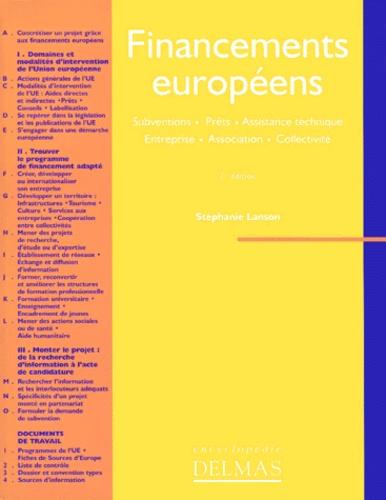 Stéphanie Lanson - Financements européens - Subventions, prêts, assistance technique, entreprise, association, collectivité.
