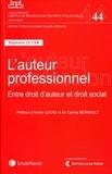 Stéphanie Le Cam - L'auteur professionnel - Entre droit d'auteur et droit social.