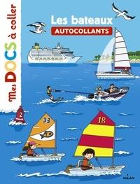 Stéphanie Ledu et Damien Catala - Les bateaux - Autocollants.